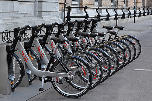 Bixi Bike Share Station