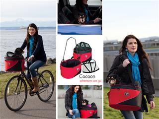 Cocoon Bike Basket from DoggyRide