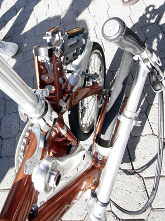 Dahon's Stowable Pedals