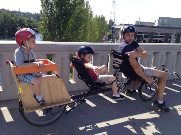 Recumbents are family, too.