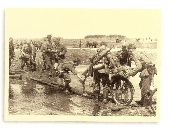 The Ukranian steppe became a literal quagmire for the German army and its allies.