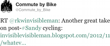 Another great take on post-#Sandy cycling