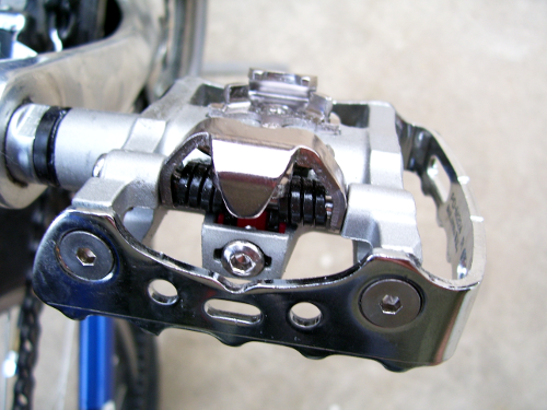 Shimano PD-M324 - Clip side up