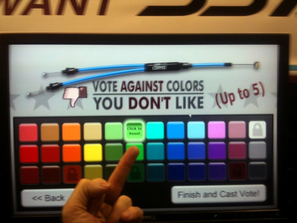SST Voting on Cable Colors